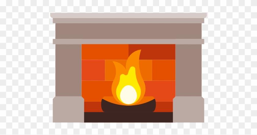 Fireplace Clipart Transparent - Clip Art #93268