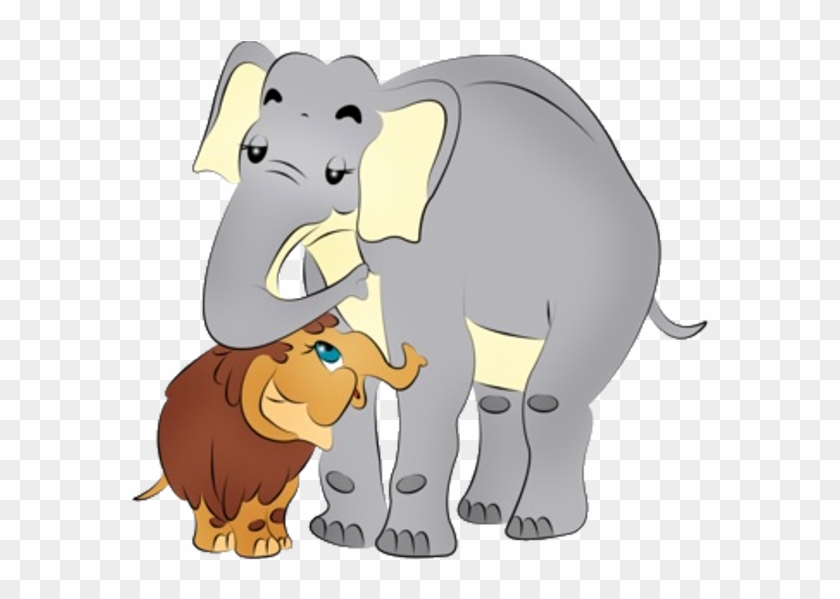Mother And Baby Cartoon Elephant Pictures - Baby Elephants In Cartoon #93292