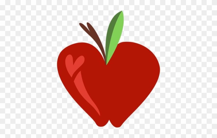 Apple Heart Clipart Mlp Vector By Jackiephantom13 On - My Little Pony: Friendship Is Magic #93353