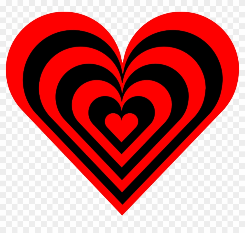 Red And Black Heart #93372