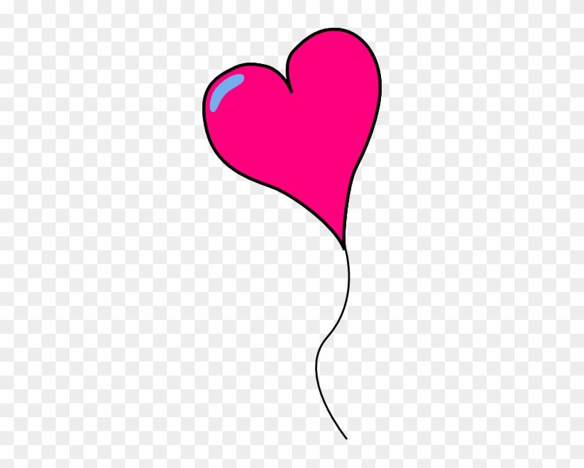 Heart Balloon Alone Clip Art At Clkercom Vector - Clip Art #93382