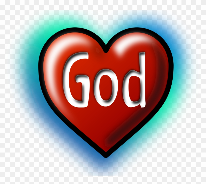 Big Image - Love God 25mm Pin Button Badge Lapel Pin Christian #93385