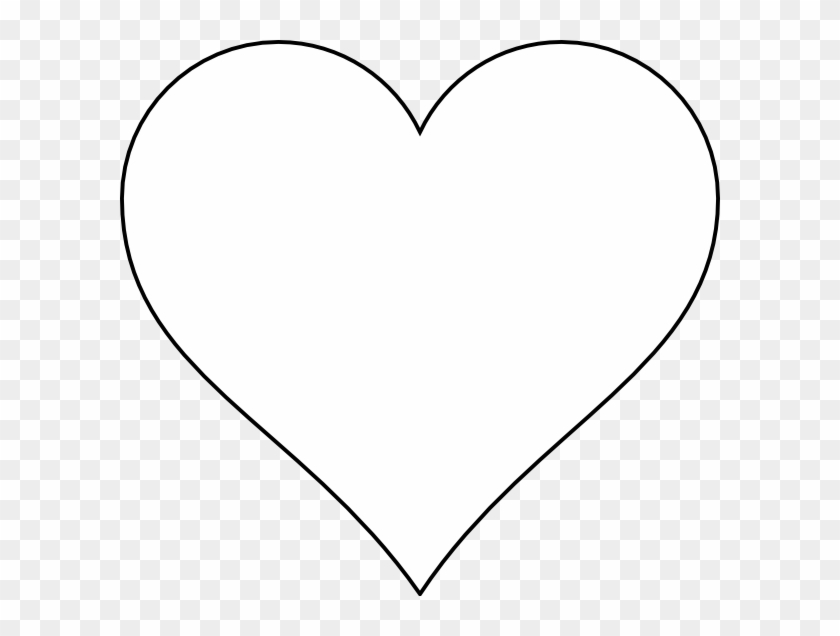 Thin B&w Heart Svg Clip Arts 600 X 556 Px - Heart Icon Png White #93384