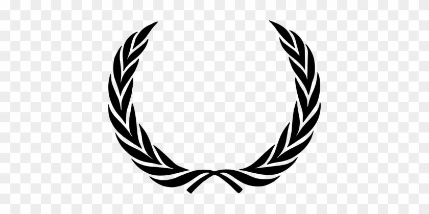 Fame Laurel Wreath Victory Wreath Award Ac - Wreath Logo #93425