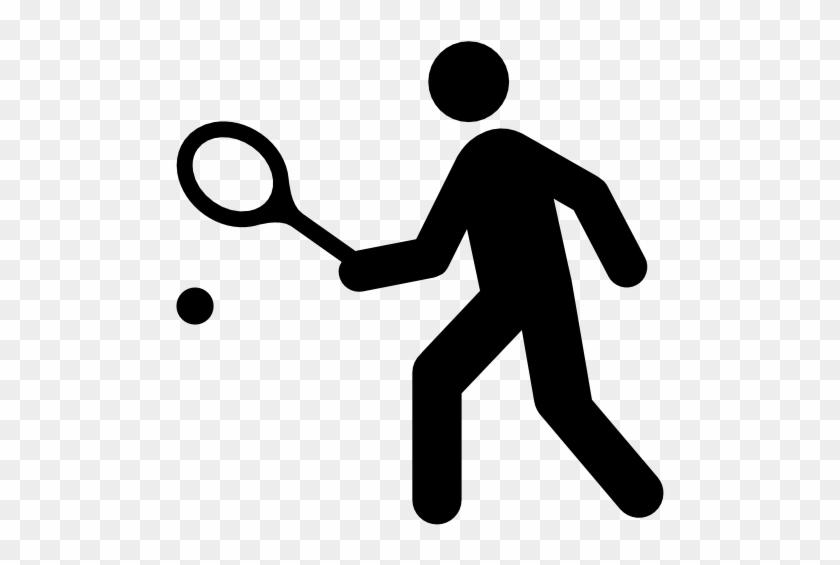 Sport Clipart Squash Sport - Tennis Icon #93475