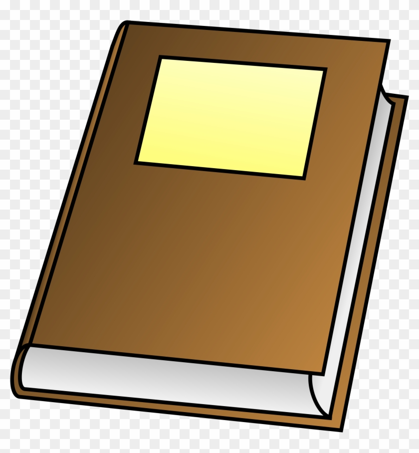 Front Of A Book Clipart - Simple Drawing Of Book #93541