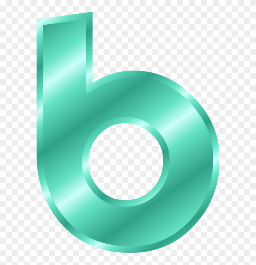 Alphabet Letter B Small Clipart - Letter B Clipart Small #93546