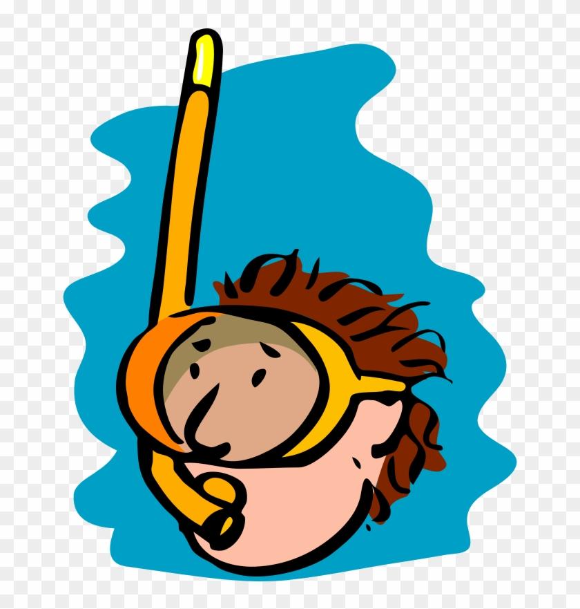 Digitalgoonies - Com - Part - Snorkeling Clipart #93578
