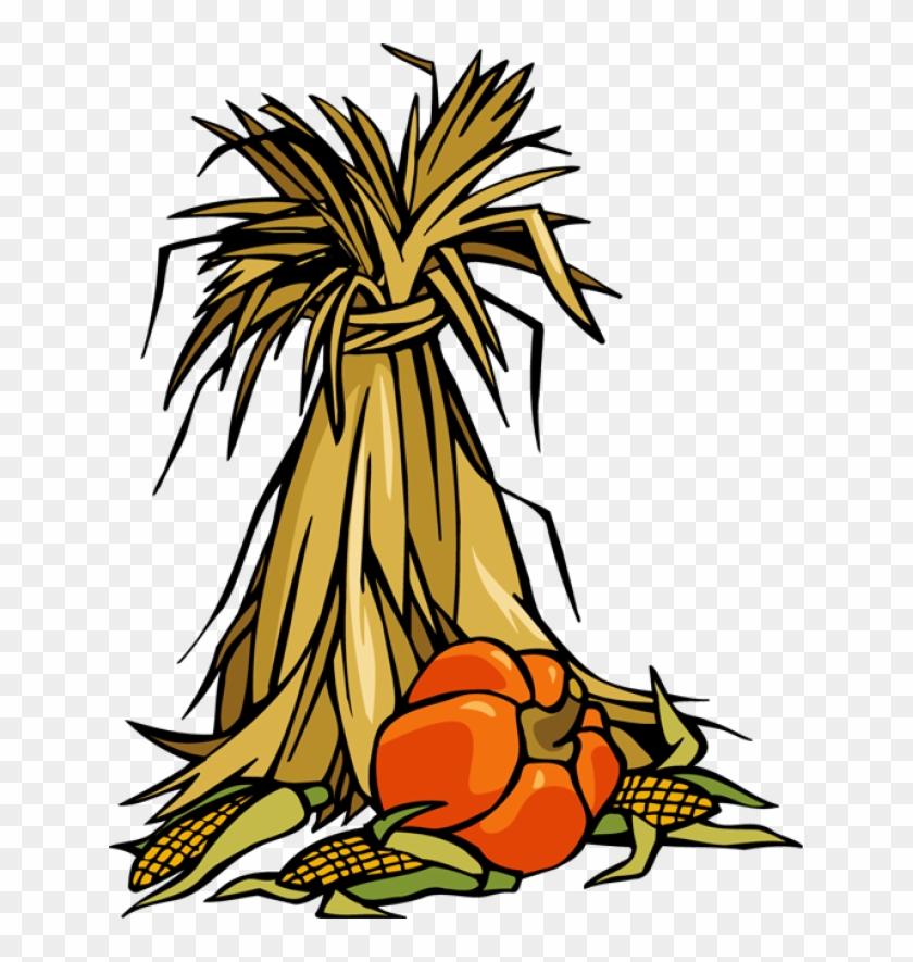 Indian Corn Clipart - Pumpkin Patch Appliques Embroidery Design #93621