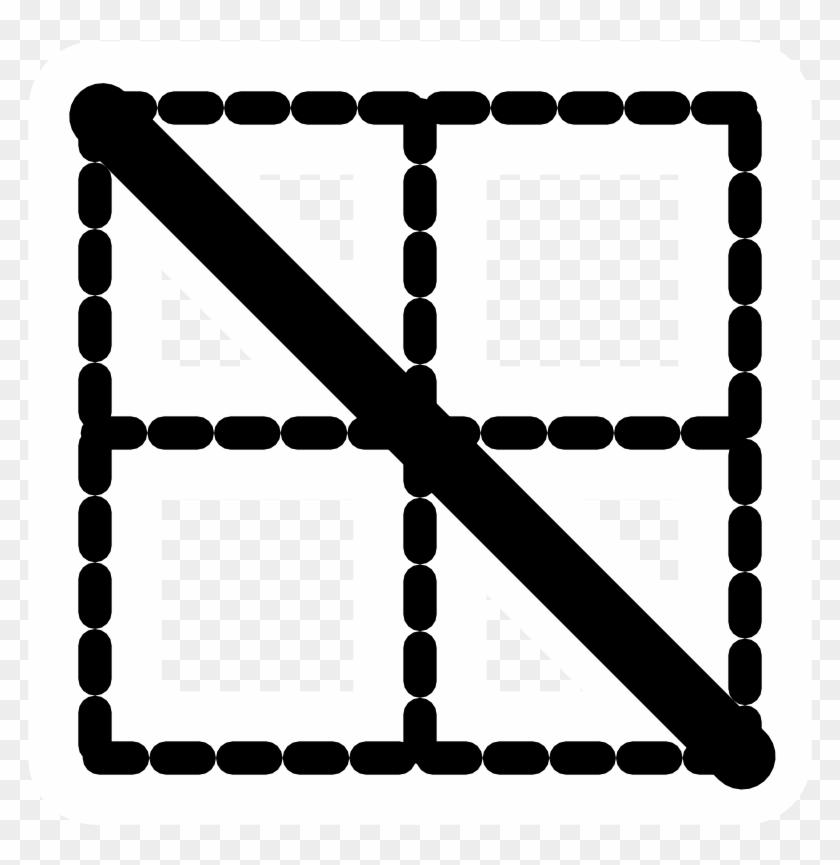 Mono Border Fall - Icon #93669