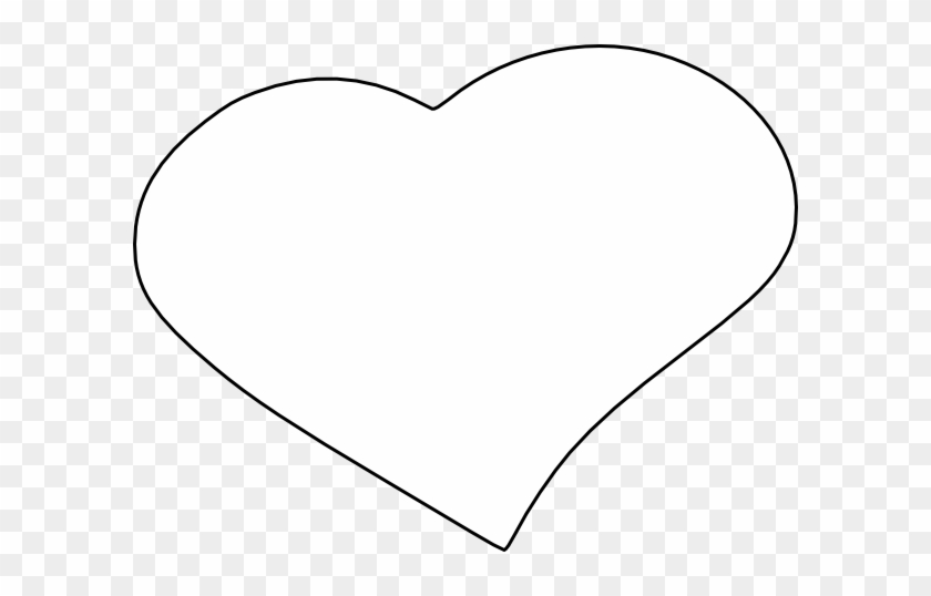 Open Heart Clip Art At Clker - Heart Icon Png White #93847