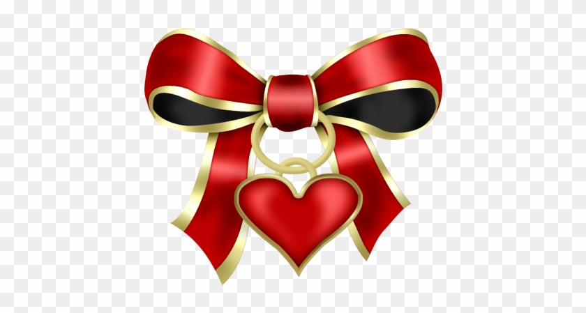 Bow With Heart - Ribbon #93876