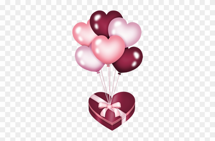 Kalpler - Ballon Coeur Png #93877