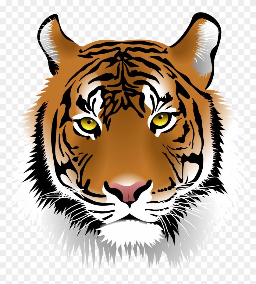 Cool Clipart Tiger - Cool Clipart Tiger #93921