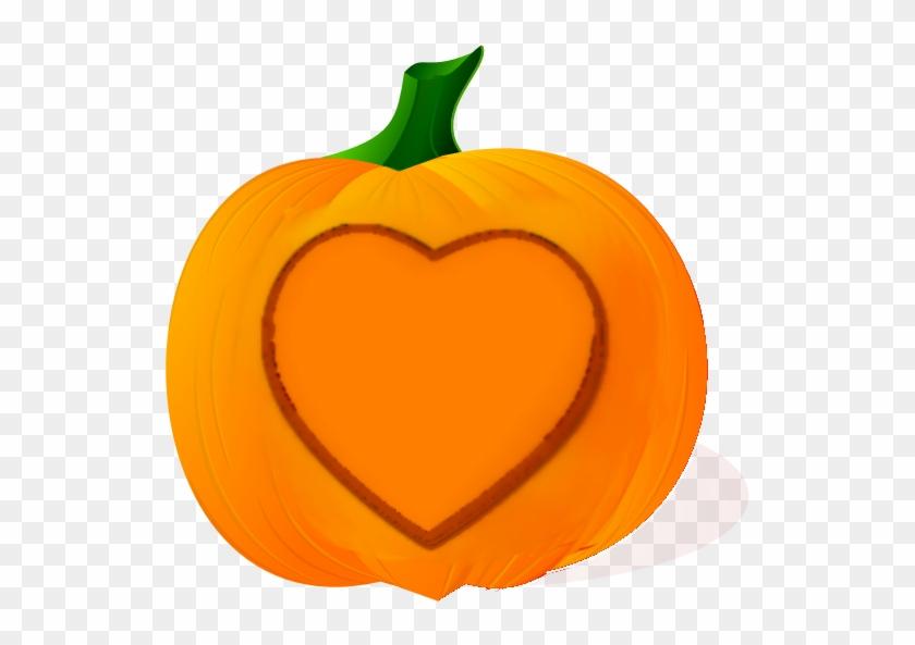 Love Pumpkin - Jack O Lantern Clipart #93933