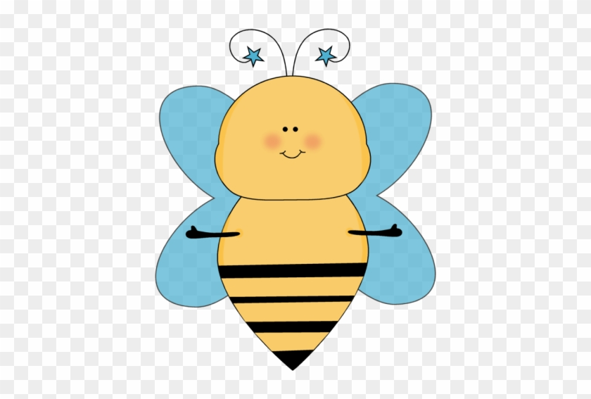 Blue Star Bee With Open Arms - Bee With Arms #93970