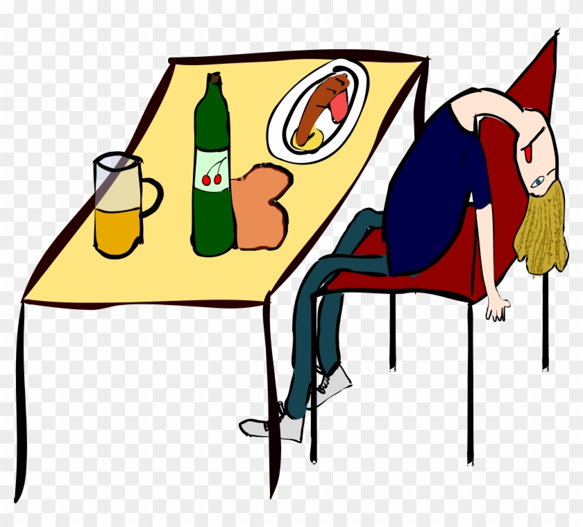 Clipart - - Passed Out Clipart #94082