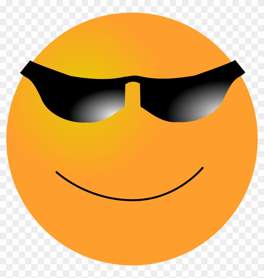 Clipart Smiley Cool - Cool Clip Art #94132