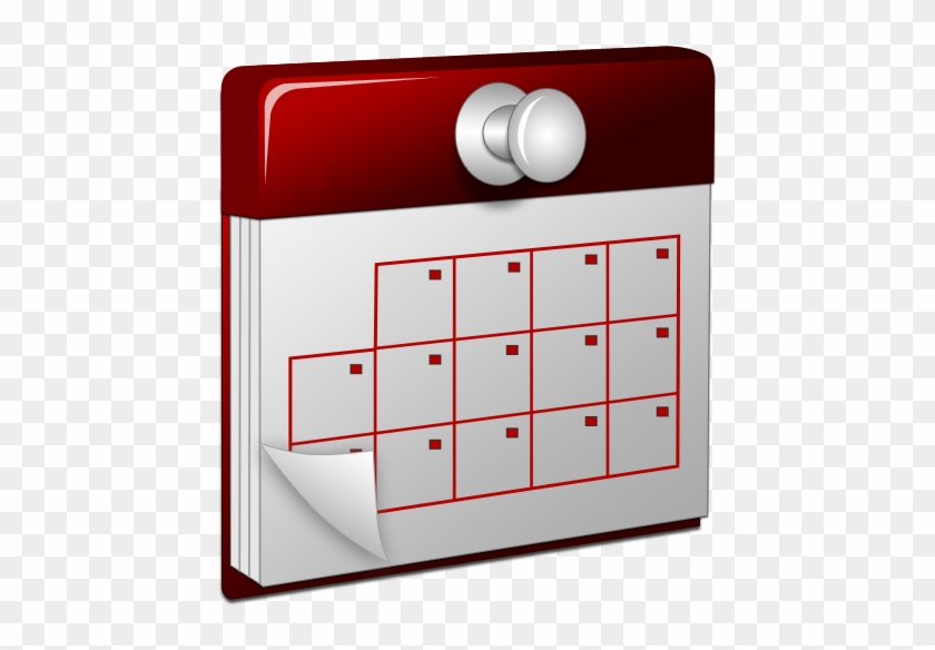 3d, Calendar, Red Icon - Icono De Calendario Png #94181