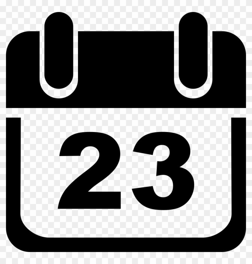 Calendar Comments - 23 March Clipart #94257