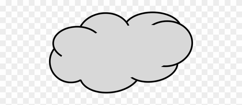 picture relating to Printable Cloud titled Down load Cost-free Printable Clipart And Coloring Internet pages - Gray