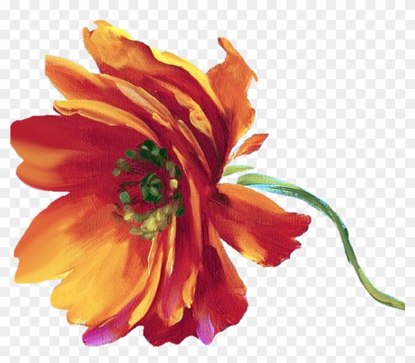 Yüksek Çözünürlüklü Dekupaj Resimleri,sanatsal Dekupaj - Great Big Canvas Flamboyant By Lisa Audit Gallery Painting #94291