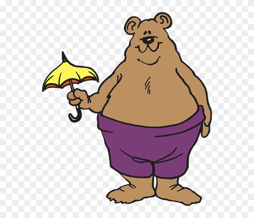 Bear Umbrella #94293