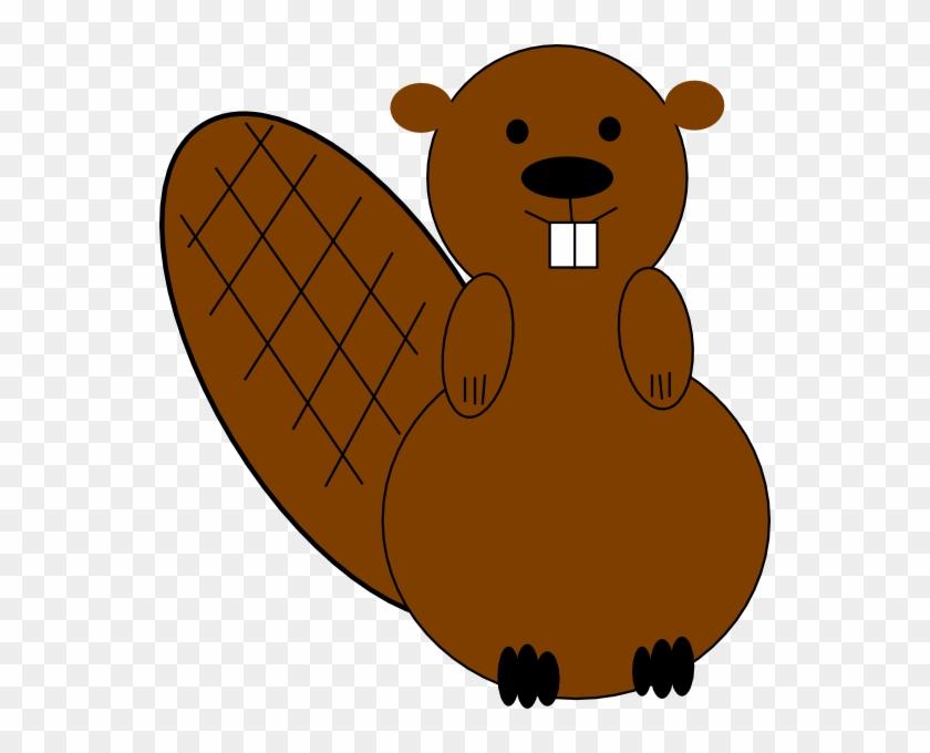 Free Clip Art Beaver #94301
