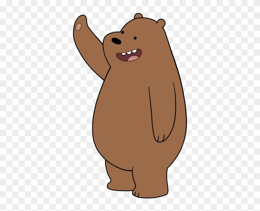 Grizzly Bear Clipart - We Bare Bears Character #94307
