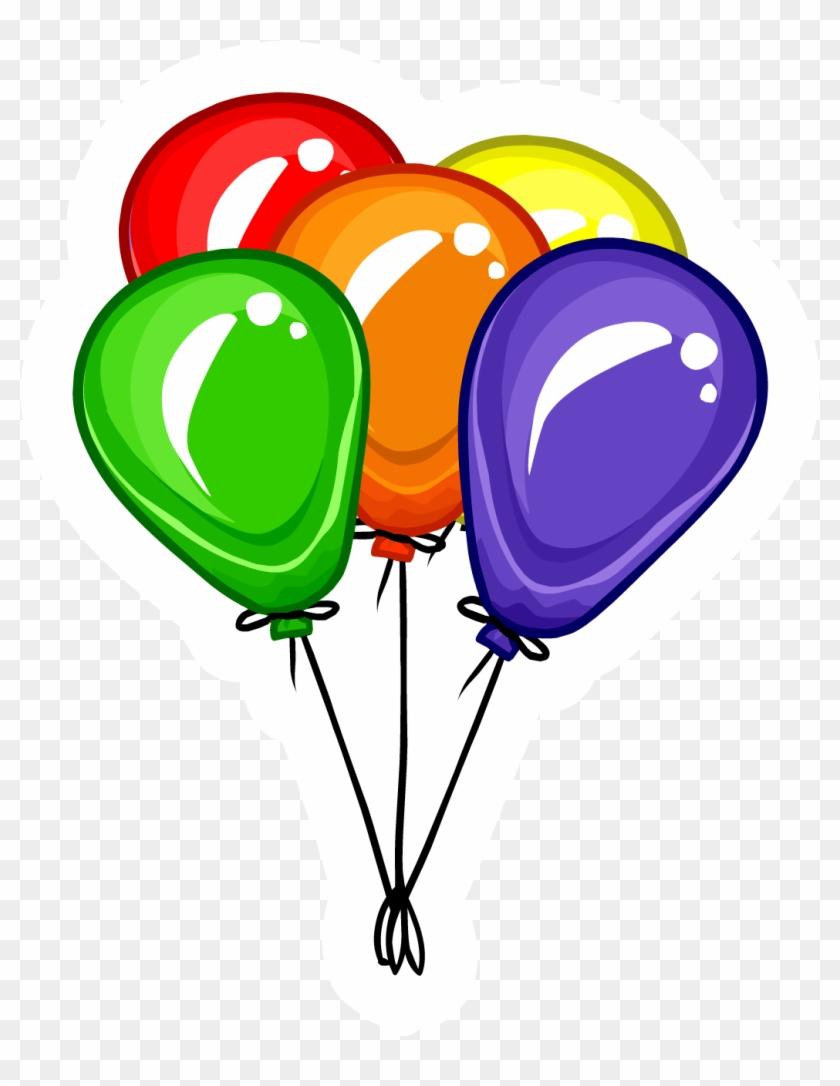 Balloon Clipart Png - Balloon Bunch #94331