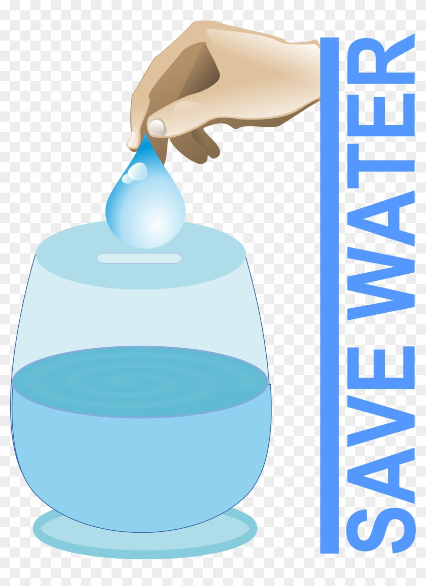 Clipart - Save Water - Slogans On Water Conservation #94335