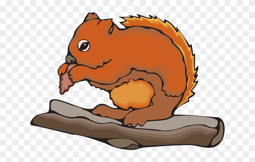 Fur Food, Branch, Chipmunk, Art, Eating, Animal, Fur - Chipmunks Animals Clipart #94358