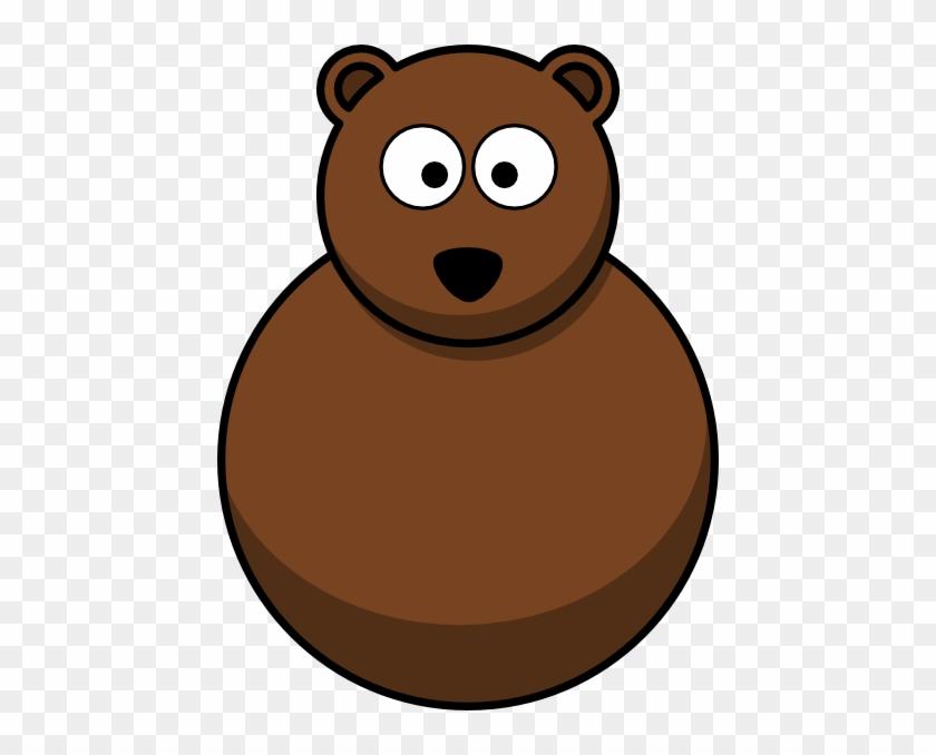 Bear Without Legs Clip Art - Cartoon Bear Walking Transparent #94368