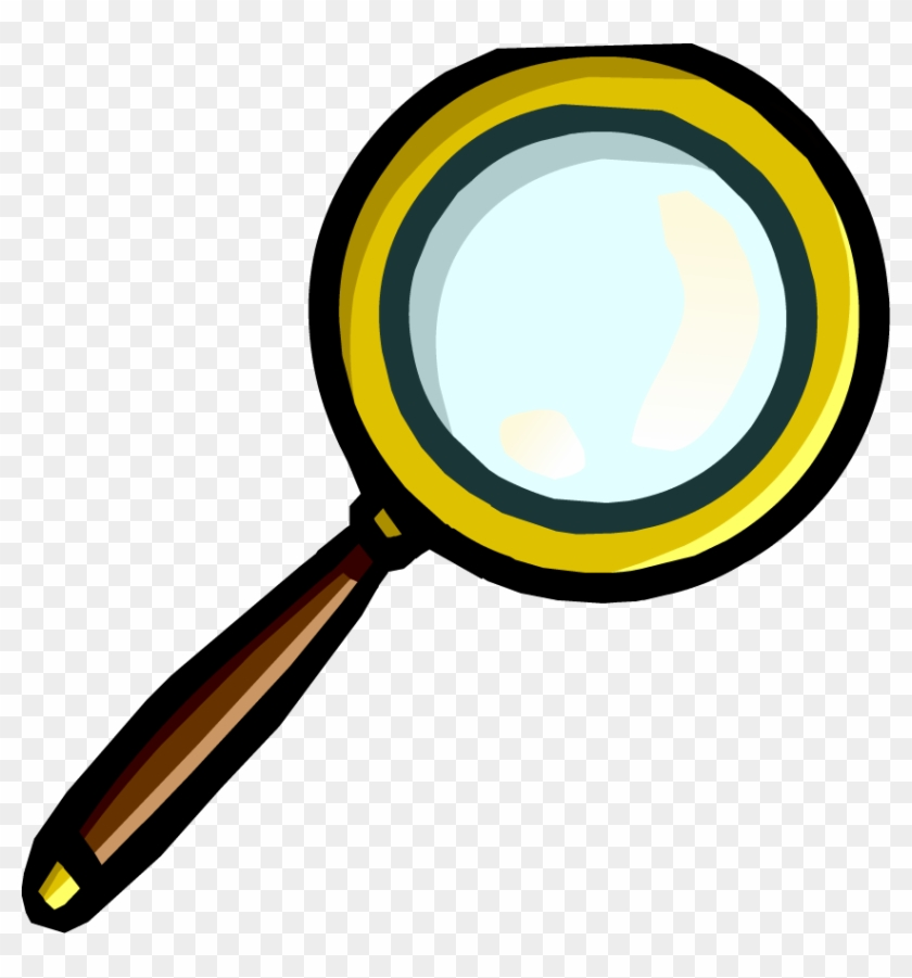 Club Penguin Wiki - Treasure Hunt Magnifying Glass #94387