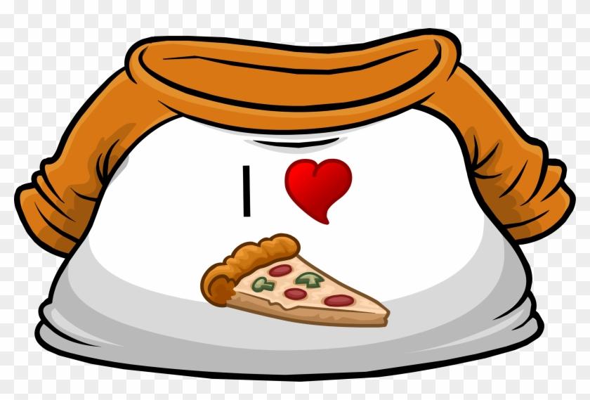 I Heart Pizza T-shirt - Club Penguin Pizza Shirt #94394