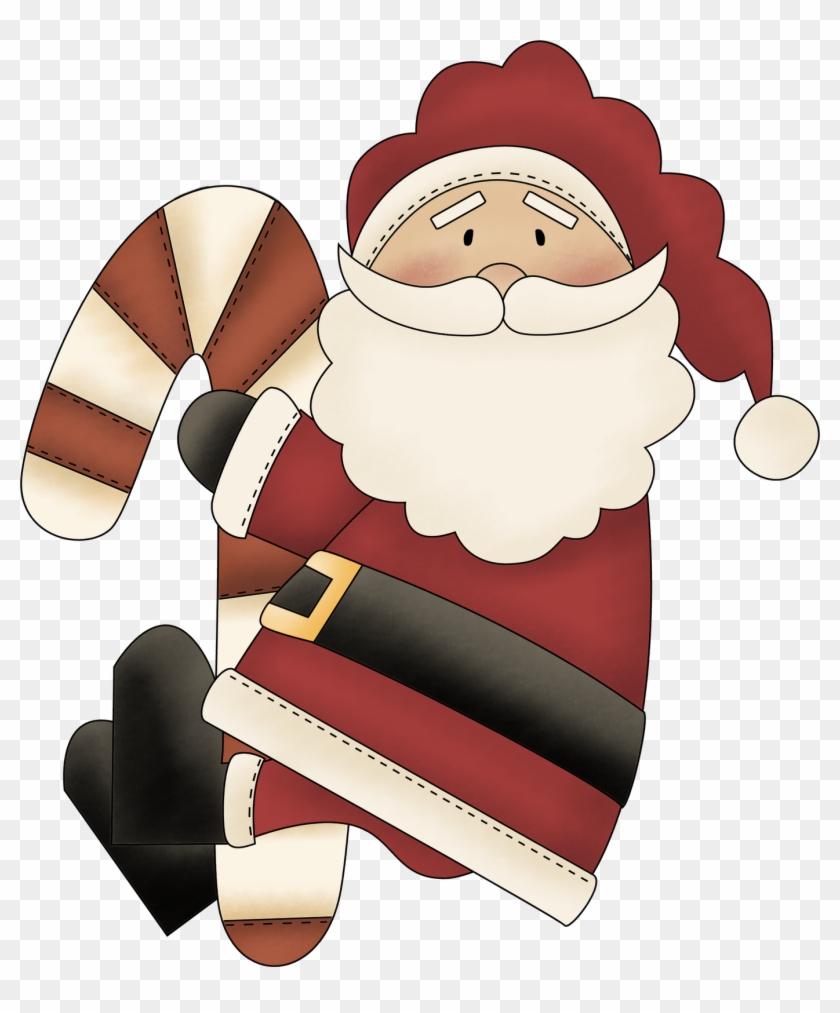 Santa - Merry Christmas Greeting Card #501622