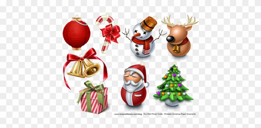 Toner Refill Store - Christmas Icons - Free Transparent PNG Clipart