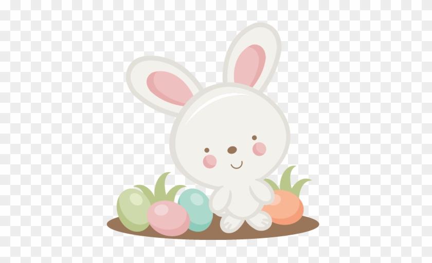 Easter Bunny Svg Scrapbook Cut File Cute Clipart Files - Free Easter Bunny Svg File For Cutting #501786