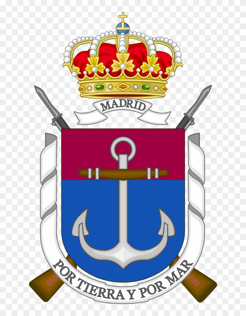 Coat Of Arms Of The Spanish Marine Corps Madrid Security - Poder Judicial Spain #501857