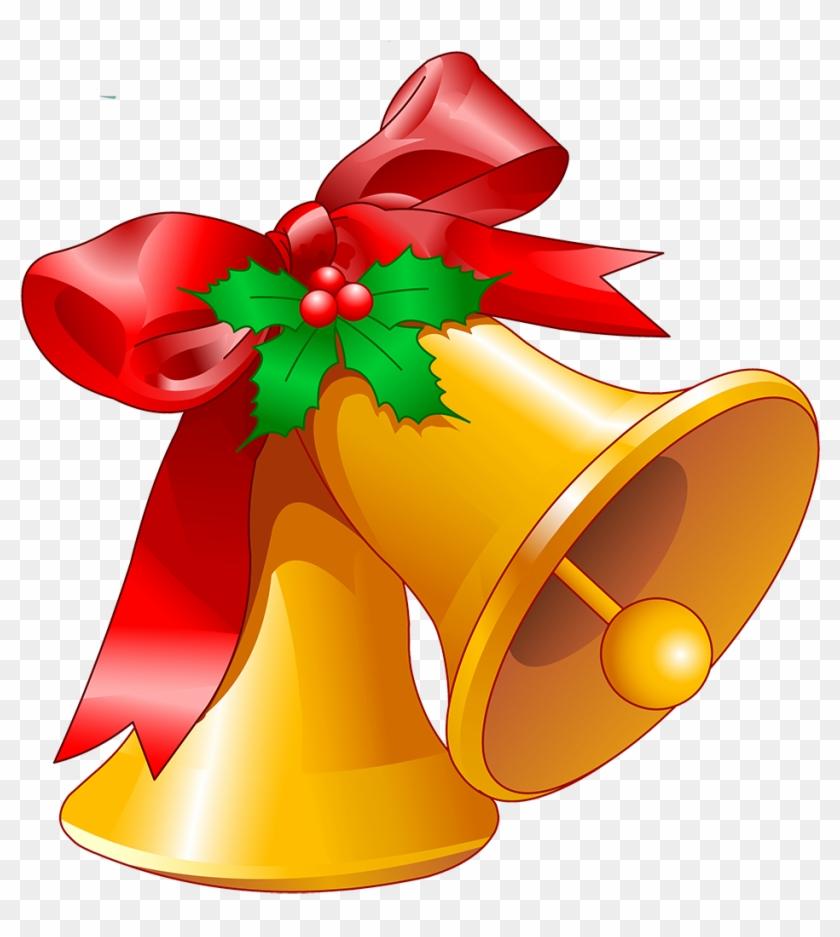 Ding Dong Merrily On High - Christmas Bells Clip Art #501868