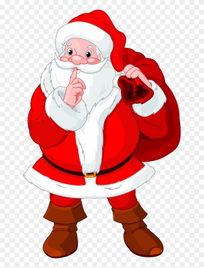 Santa Claus Cartoon Christmas Clip Art Images On A Santa Claus Secret Santa 502019