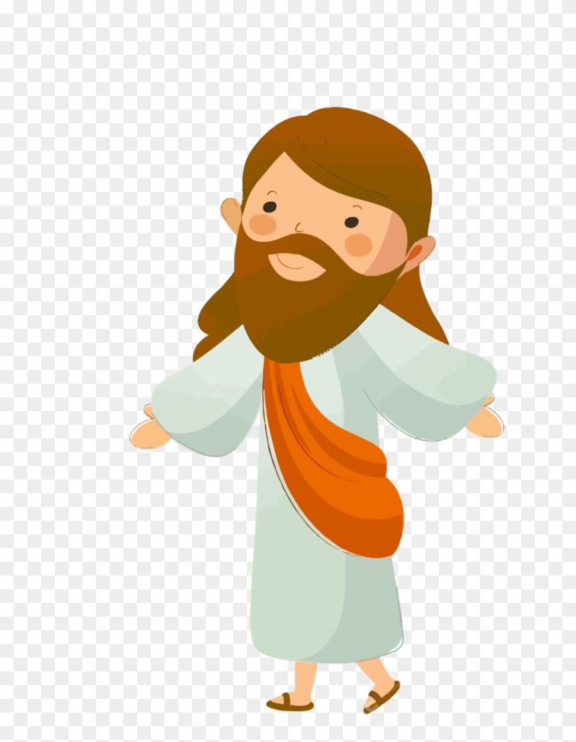 Jesus Vector35 By Minayoussefsaleb - Jesus Christ Cartoon Png #502870