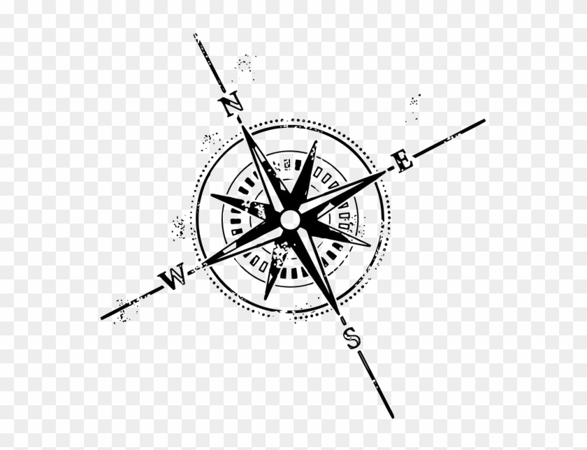 Compass Rose Tattoo Symbol Clip Art Compass Tattoo Design Free Transparent Png Clipart Images Download