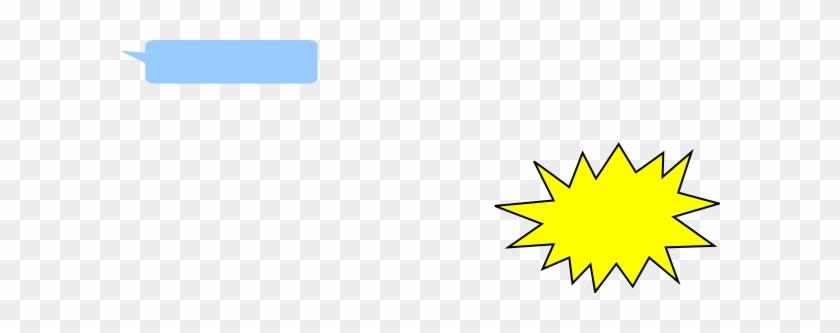 Light Blue Quote Bubble Clip Art At Clker Com Vector - Clip Art #503388