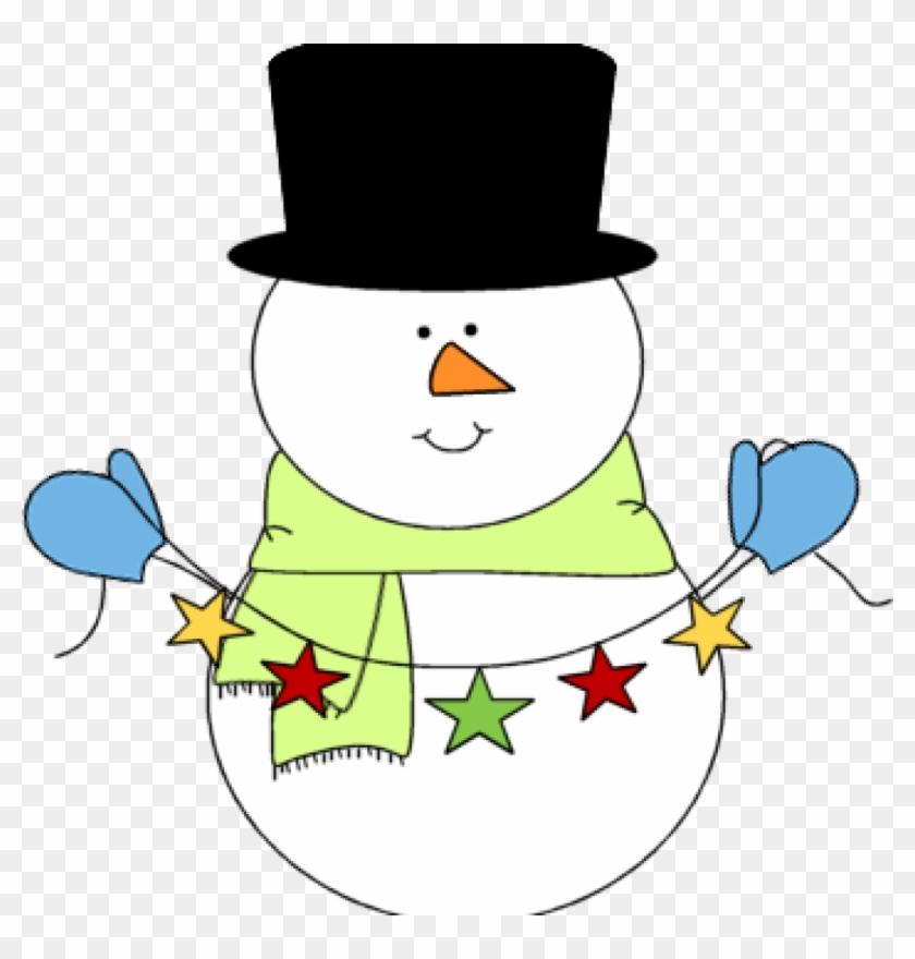 Cute Snowman Clipart Pig Clipart Hatenylo Com Rh Hatenylo - Christmas Snowman Clipart #503522
