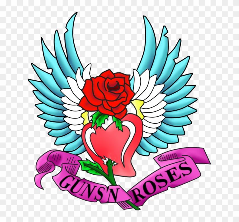 Guns's Roses Tatoo Steven Adler By Luroper - Illustration #503817