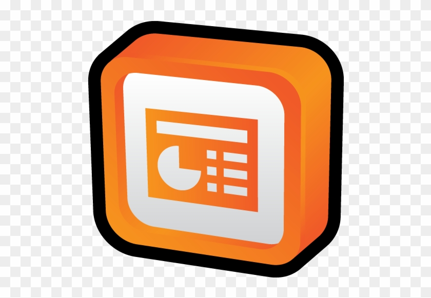 microsoft office powerpoint icon power point 3d png free