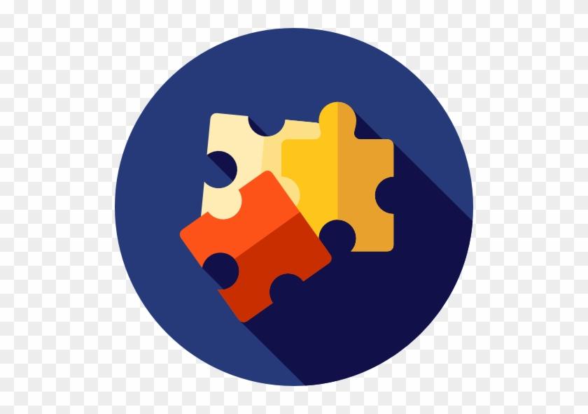 Puzzle - Business Benefits Icon #504252