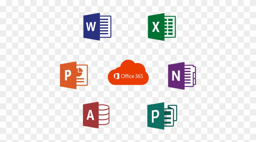 Office 365 Icon - Microsoft Office 2018 Crack - Free Transparent PNG