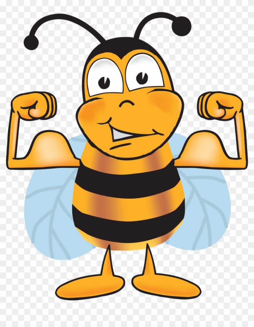 Good Morning Bee Cartoon Free Transparent PNG Clipart